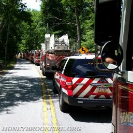 East Brandywine, Uwchlan, Lionville and Honey Brook units on Creek Road
