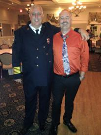Chief Murphy and Past Chief Messner