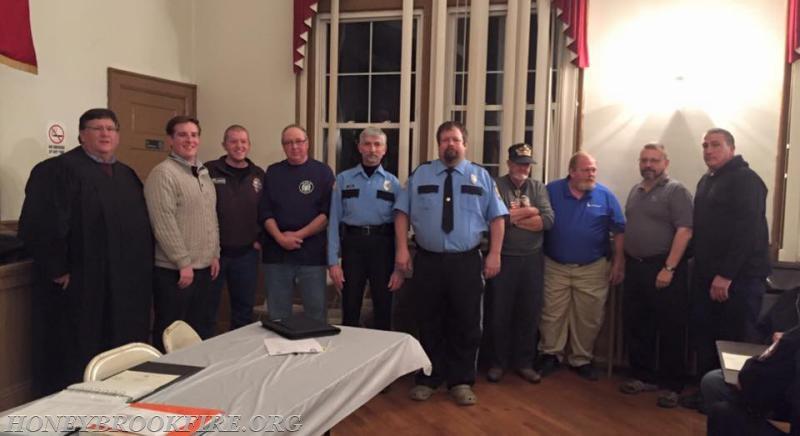 Dan Hertzler >> 2016 Company Officers - Honey Brook Fire Company