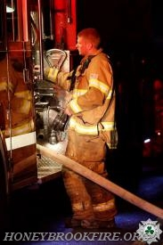 Lt Kern operating Engine 33-5