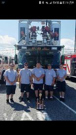 Birdsboro-Union Fire Department and their Award