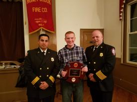 Junior Firefighter of the year: Dale Gentry