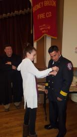 Jake Bailey getting pinned as Deputy Chief