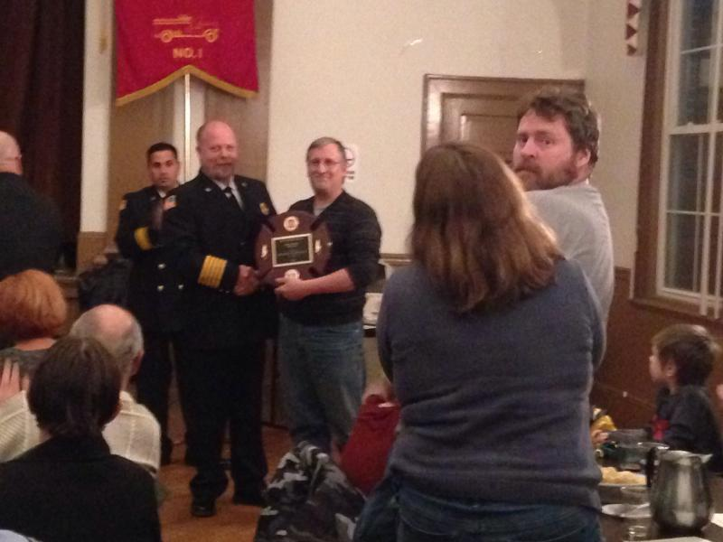 Firefighter of the year: Dennis Hagenbuch