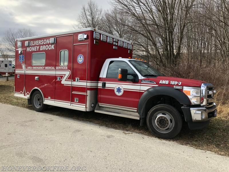 Elverson-Honey Brook EMS Ambulance 189-3