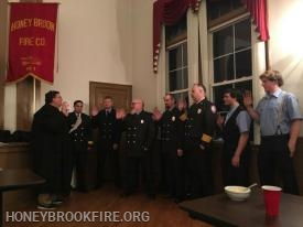 Swearing in 2019 line Officers