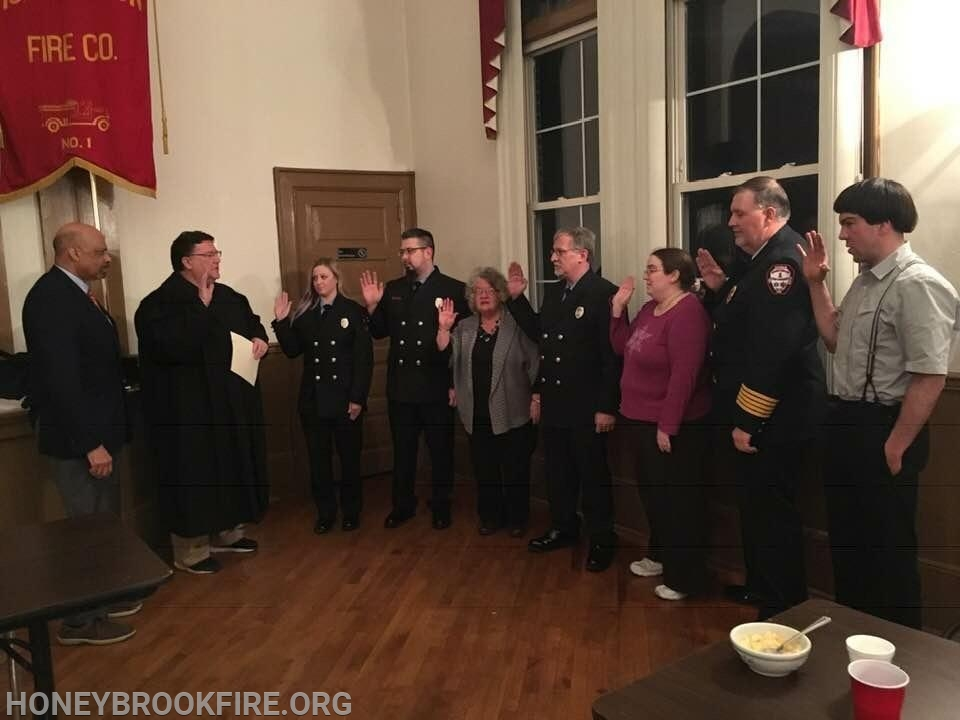 Swearing in 2019 Executive Board